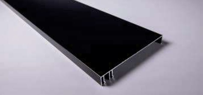 120mm Black Fascia