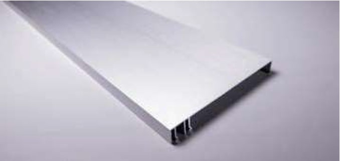 120mm Brushed Silver Fascia
