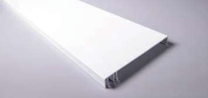 120mm Fascia White