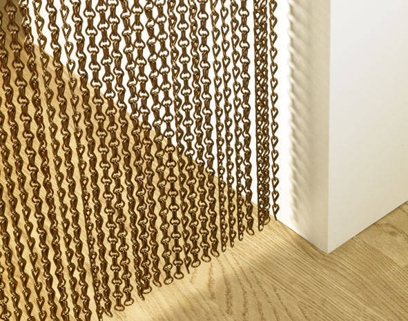 Chain Insect Screens, Custom Sized, Suitable for Doors and Windows