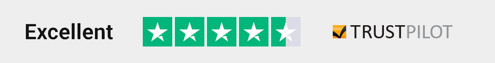 NewBlinds.co.uk are Rated Excellent with 4.5-Stars on Trustpilot