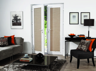 The ideal blinds for tilt and turn windows and french doors!