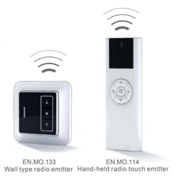 Handsets and Wall Switches for Newblinds Motors