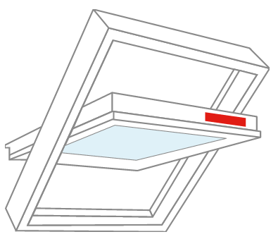 fakro window - size plate location