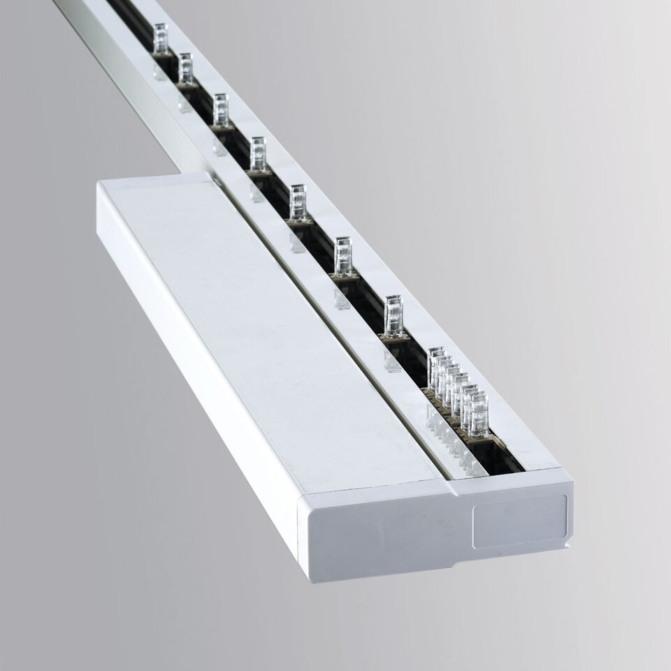 Automated Vertical Blind Headrail
