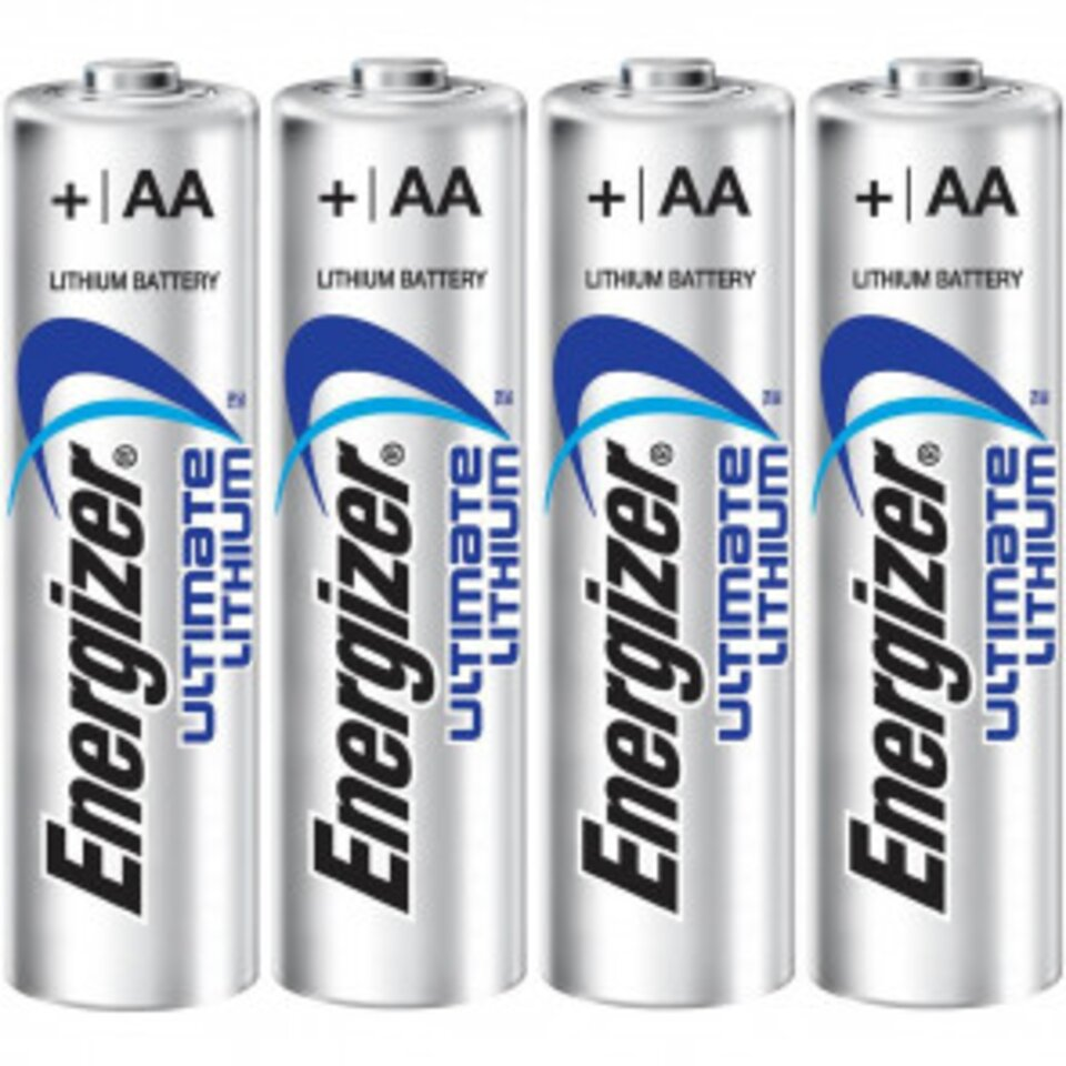 8AA Lithium Disposable Batteries