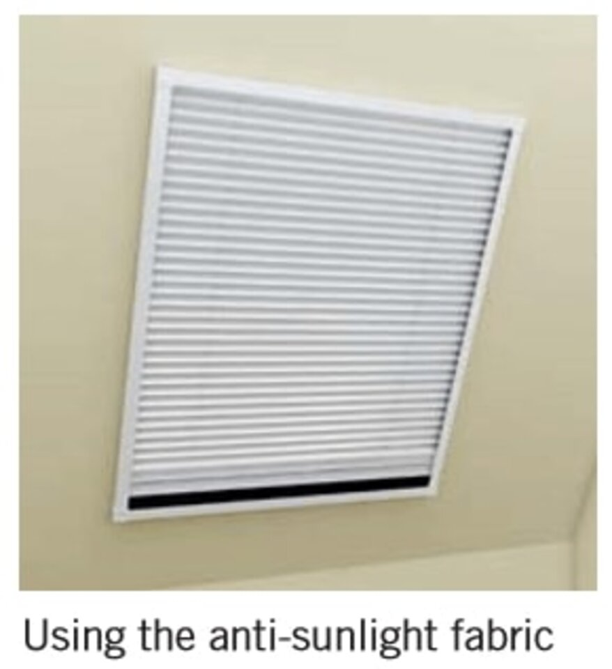 2-in-1 Pleated Blind & Flyscreen for VELU
