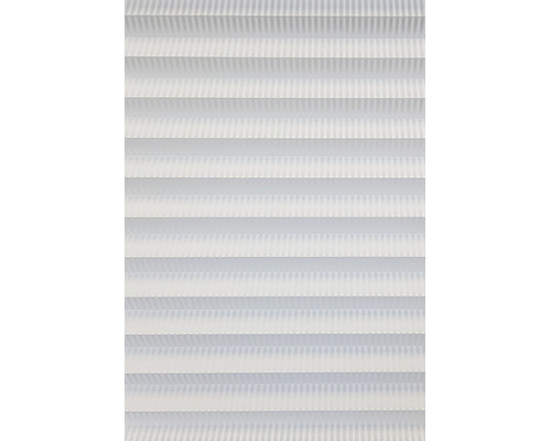Perfect Fit Pleated Blinds Pinstripe White