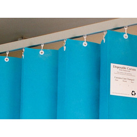 Disposable Cubicle Curtain with Eyelets