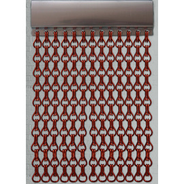 Red Chain Fly Screen | 90x210cm