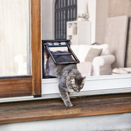 Cat Flap for Flyscreen Doors